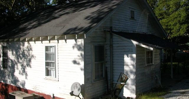 Class D mill house before fix up - Where to Buy an Investment Property