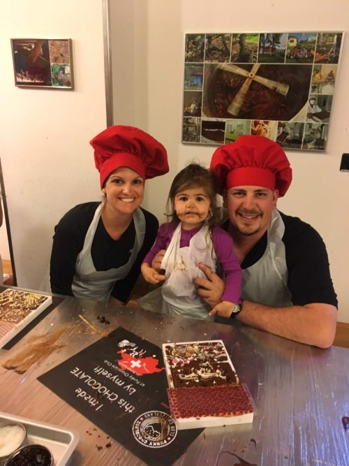 Switzerland making chocolate - From Bookkeeper to Real Estate Millionaire in 11 Years