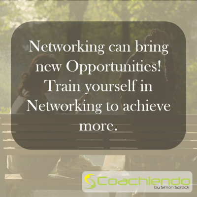 Networking can bring new Opportunities! Train yourself in Networking to achieve more.