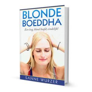 Afbeelding e-book Blonde Boeddha jubileum editie Sanne Wurzer www.coachingmetsanne.com