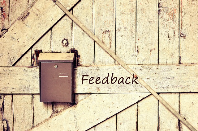 Kritische feedback geven blog