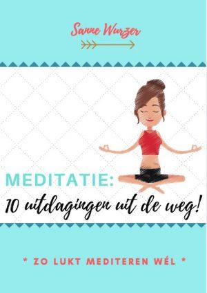 E-Book 'Zo lukt mediteren wél' - Sanne Wurzer, 2017