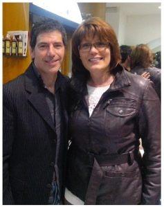 Con Marisa Macchi, dopo la conferenza tenuta a Trieste, al salone di acconciature di Caterina D'Amico - 29 marzo 2014