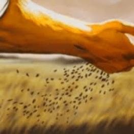 Perseveranza (contadino che semina)