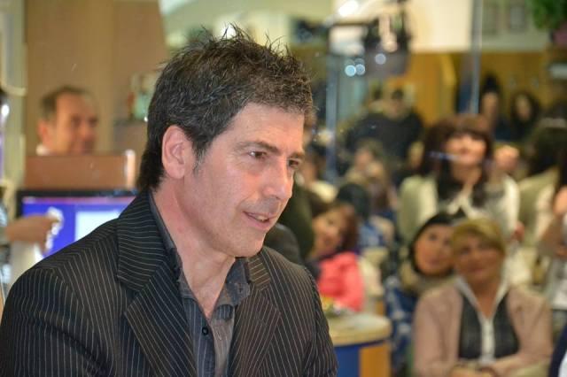 Giancarlo Fornei a Trieste, durante una sua conferenza (marzo 2014)