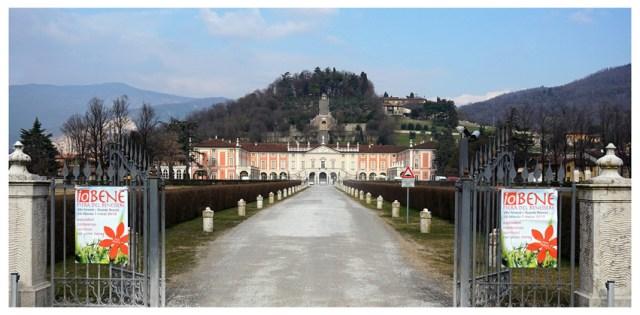 L'entrata della splendida Villa Fenaroli a Rezzato di Brescia, dove a marzo 2015 si è tenuto un seminario motivazionale del coach Giancarlo Fornei
