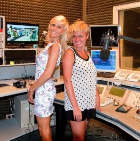 Mapi Danna e Vanessa Grey a Radio Reporter