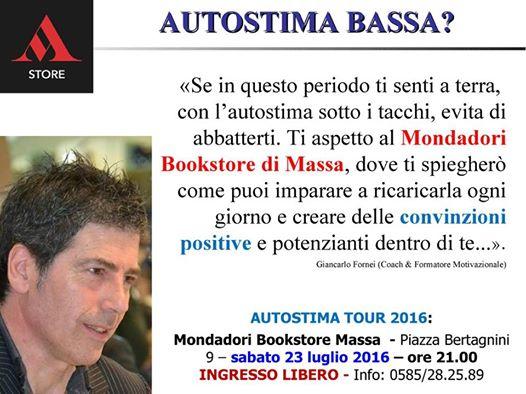 Autostima Massa 23 luglio 2016