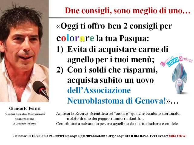I consigli per PAsqua del coach motivazionale Giancarlo Fornei