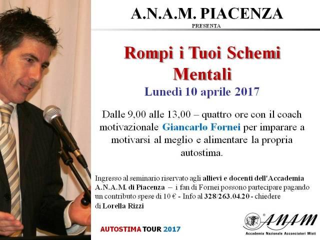 ANAM Piacenza - seminario autostima 10 aprile 2017