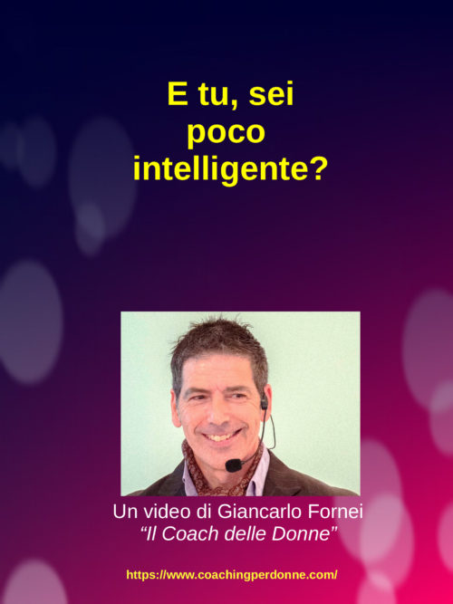 E tu sei poco intelligente? (video)…