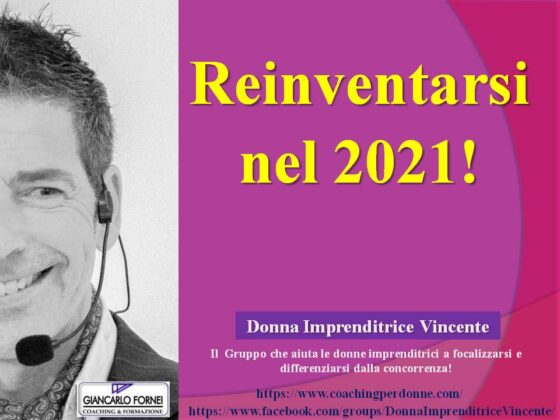 Reinventarsi nel 2021? (Video)