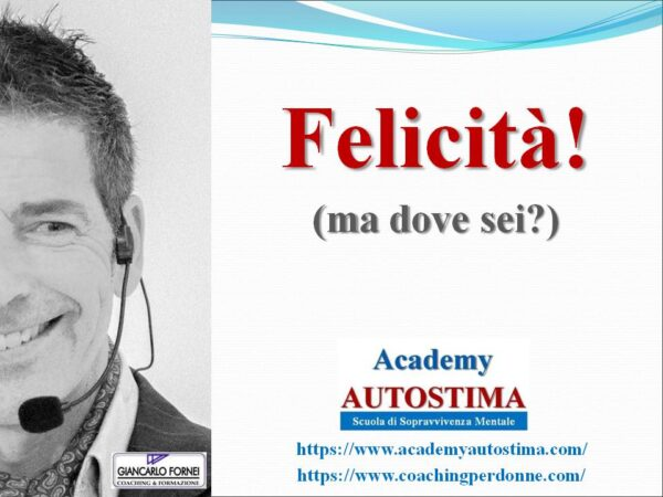 Felicità ma dove sei? (video)