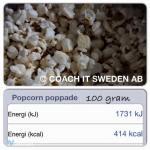 Popcorn ett hälsosamt fredagsmys