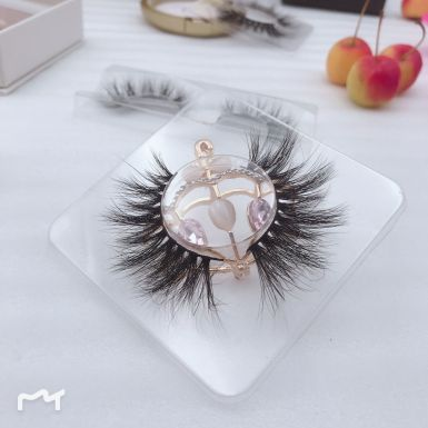 Wholesale Mink Lashes Vendors Custom Eyelash Packaging