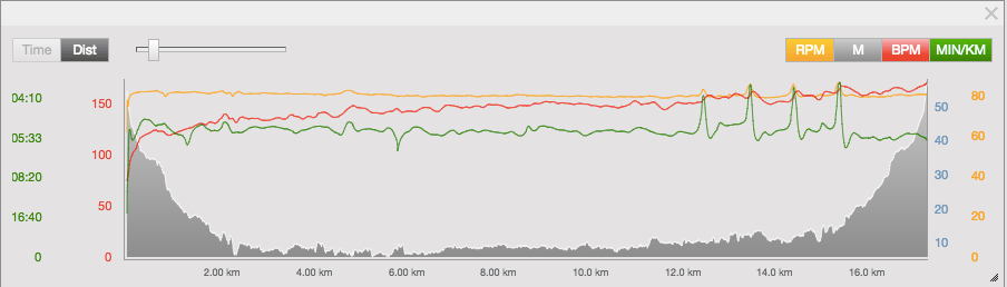 The Long Run With 4x 100m Stride Outs
