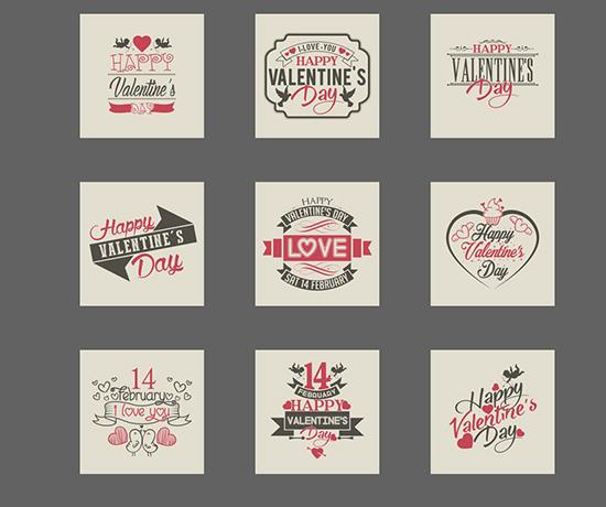 valentine's-label