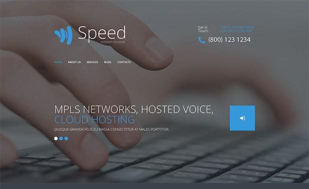 Internet WordPress Theme