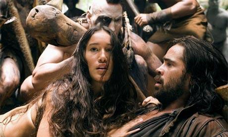 2005, The New World film still