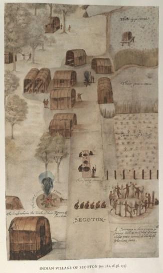 Secotan village