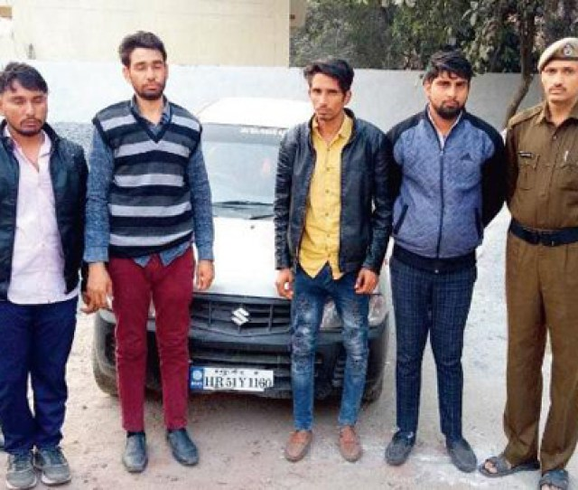 Gurgaon Jan  Year Old Woman Was Forcibly Dragged Out Of The Car And Raped In Front Of Her Family At Gunpoint The Incident Took Place At Sector