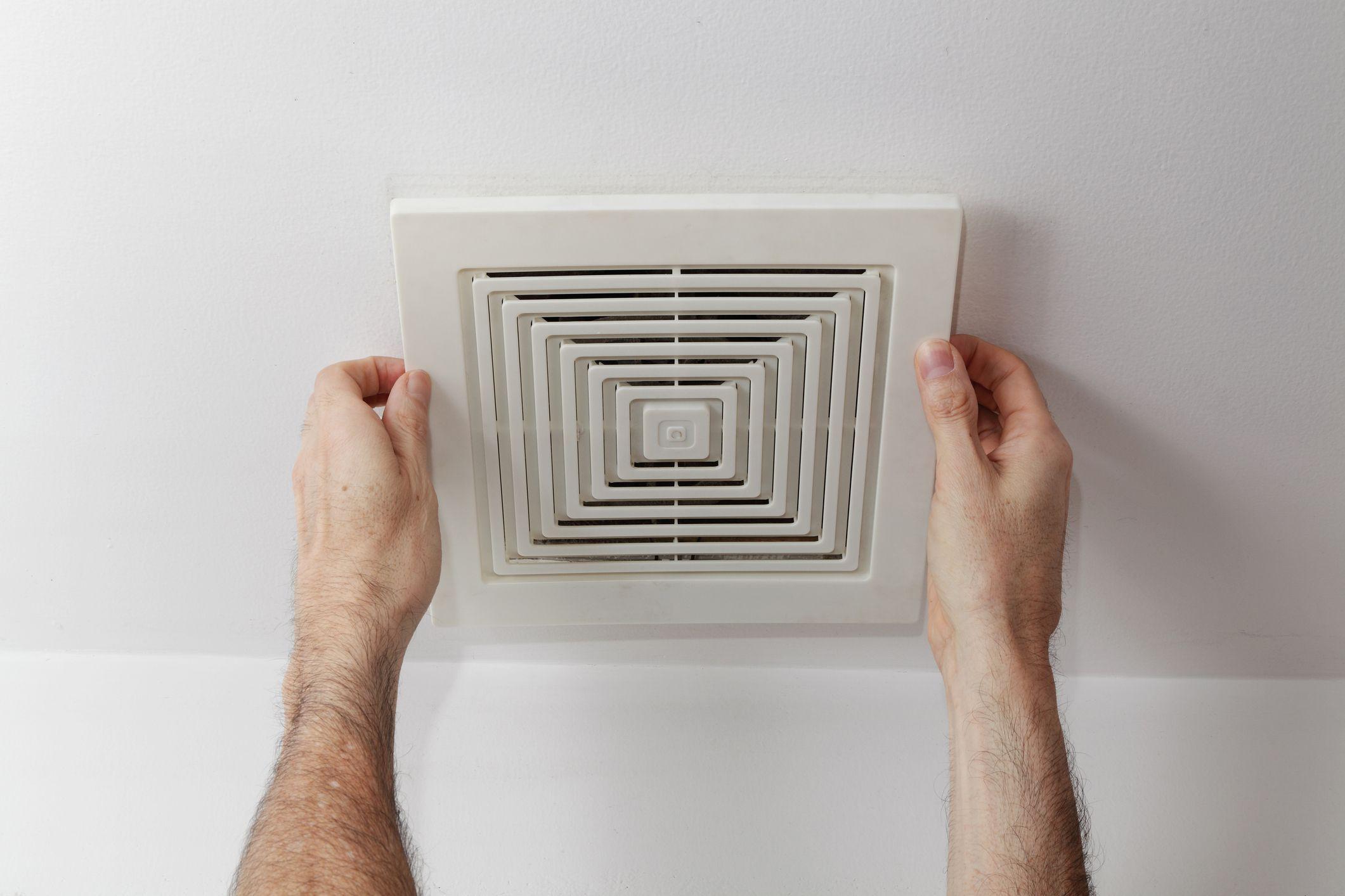 ductless bathroom fan installation