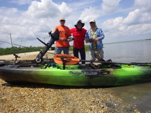 These guys were a blast to take out on a Coastal kayak Fishing Adventure.