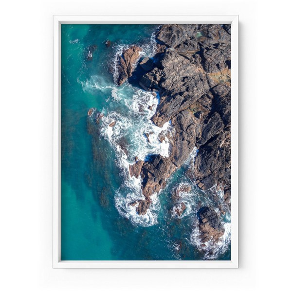 Rocky Coast From Above 2