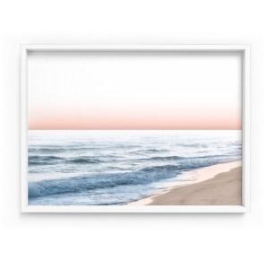 Pastel Beach Seascape