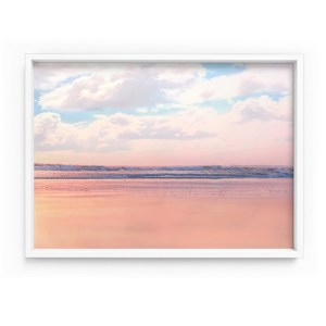 Pastel Beach Horizon