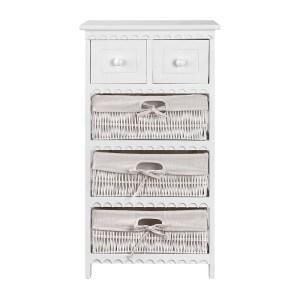 3 Basket Storage Cabinet