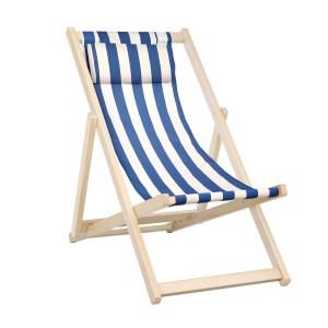 Blue & White Deck Chair
