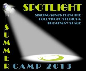2013 Spotlight Summer Camp Logo