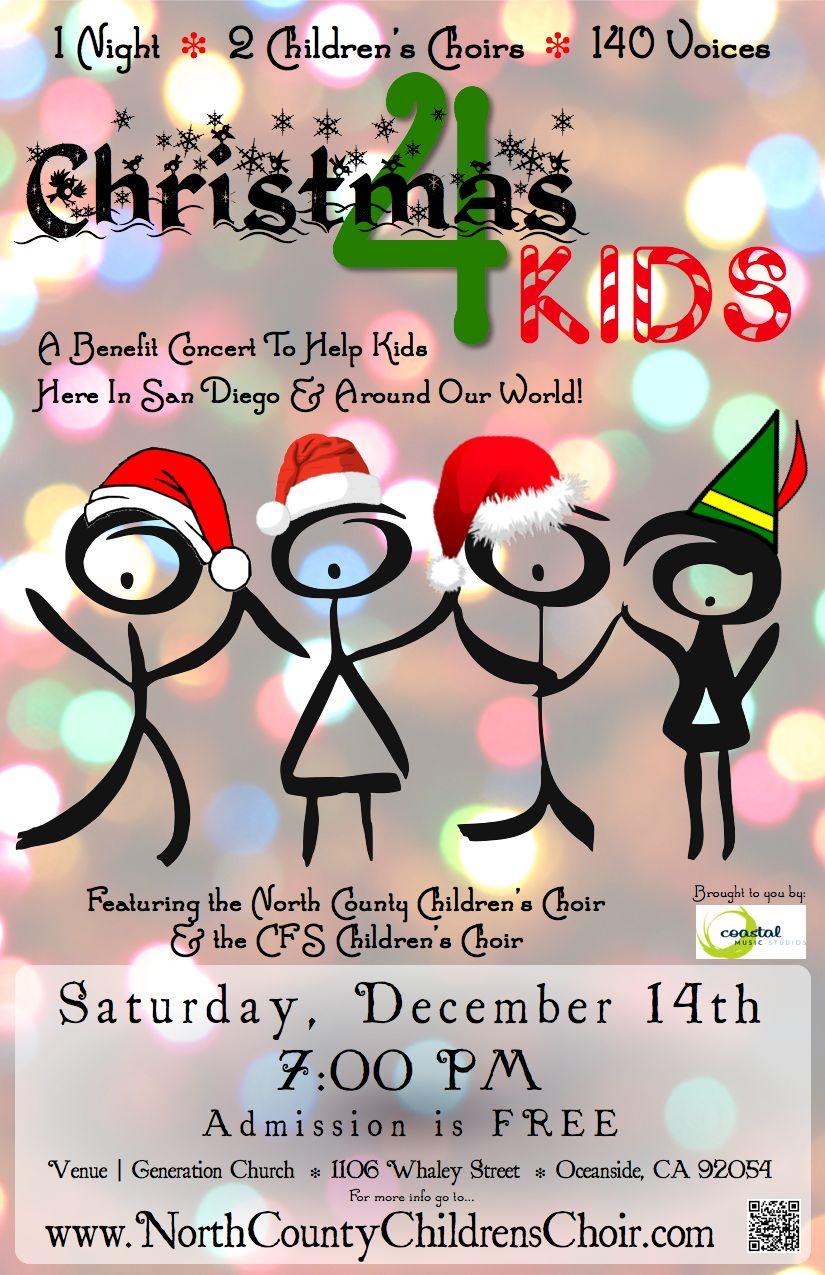 Christmas 4 Kids Concert Poster