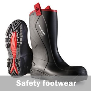 Workwear safety rubber boots