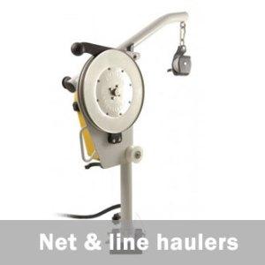 commercial fishing net line haulers