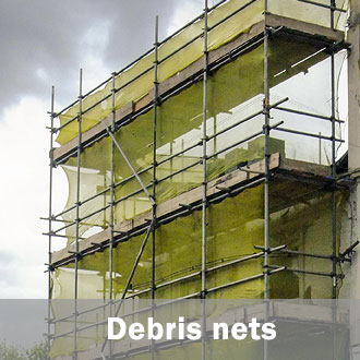 scaffold debris net