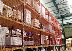warehouse racking safety net
