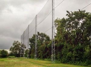 golf course perimeter fencing