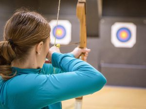 indoor archery protective netting
