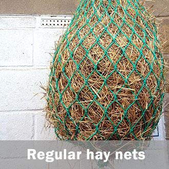 Hay feeding nets