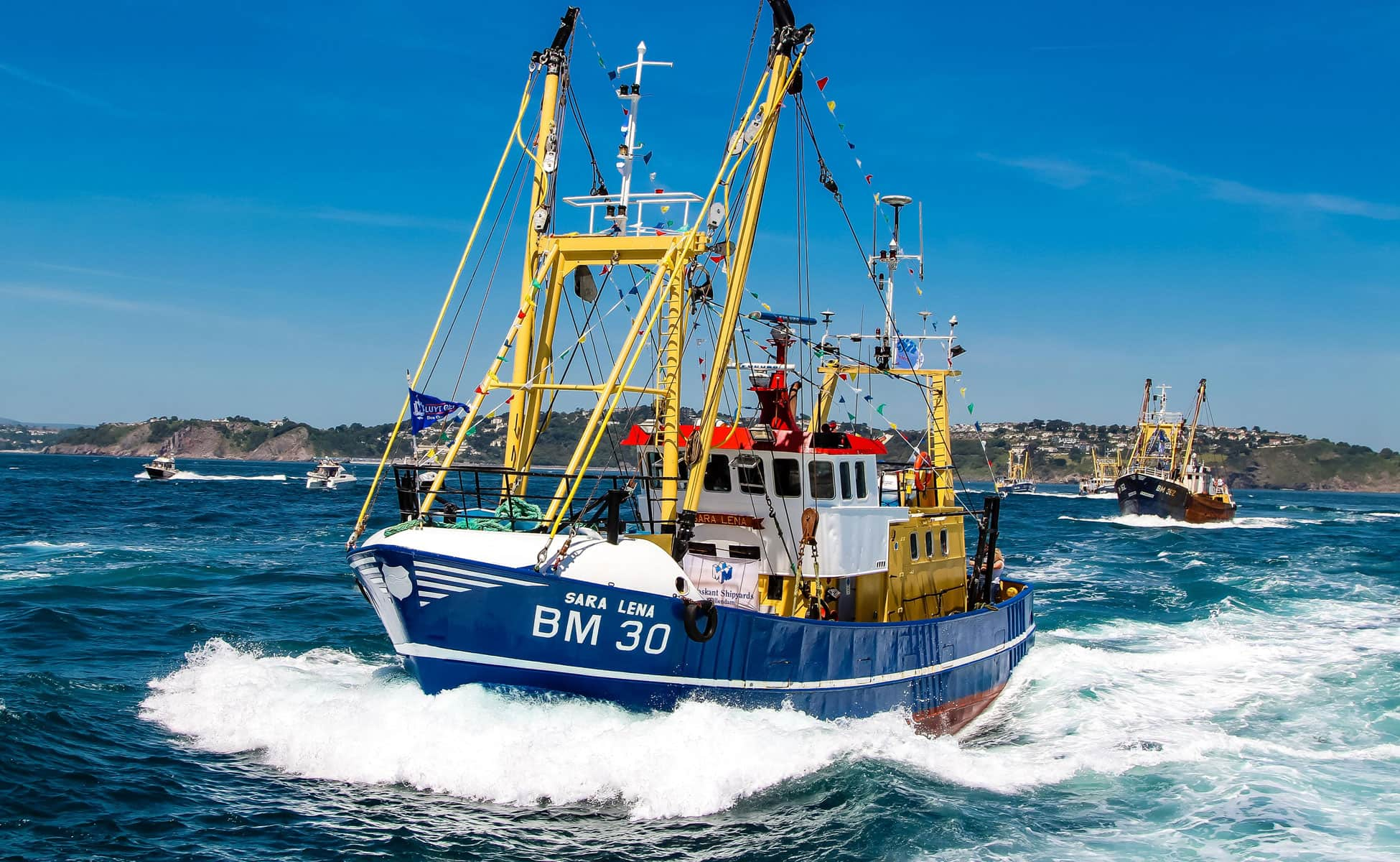 commercial fishing boats UK