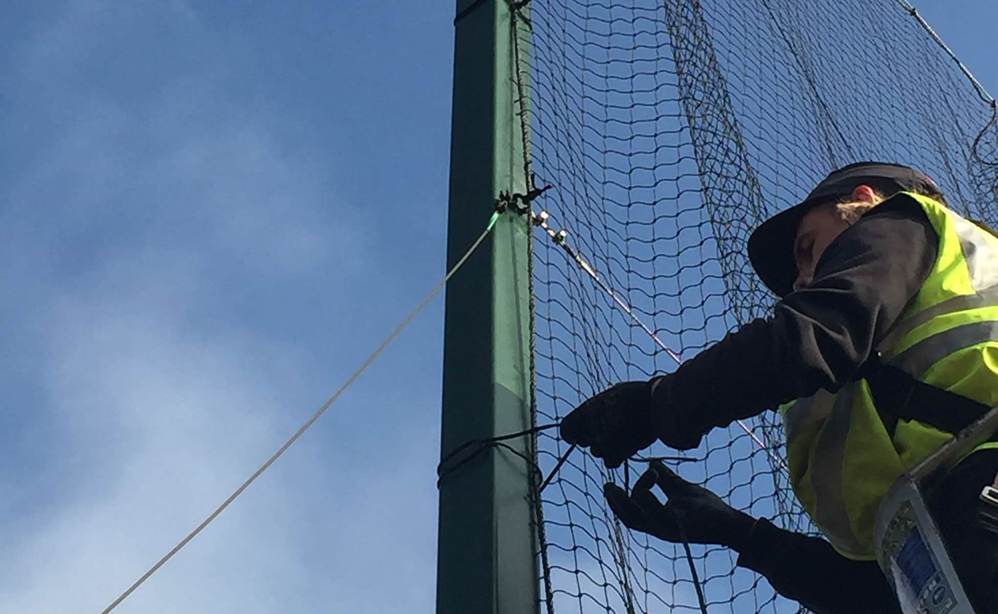 Coastal Nets netting installations