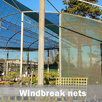 garden windbreak net