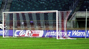 Box style football goal net