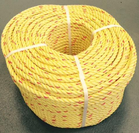 Polysteel leaded rope