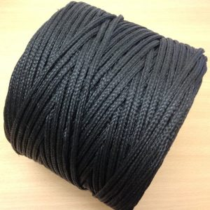 5mm Polyethylene Braided Twine Black