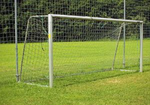 Football ground ball stop netting