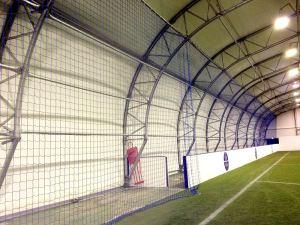Football ground ball stop netting