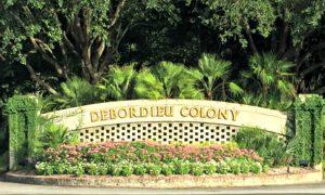 DeBordieu Colony Entrance Sign